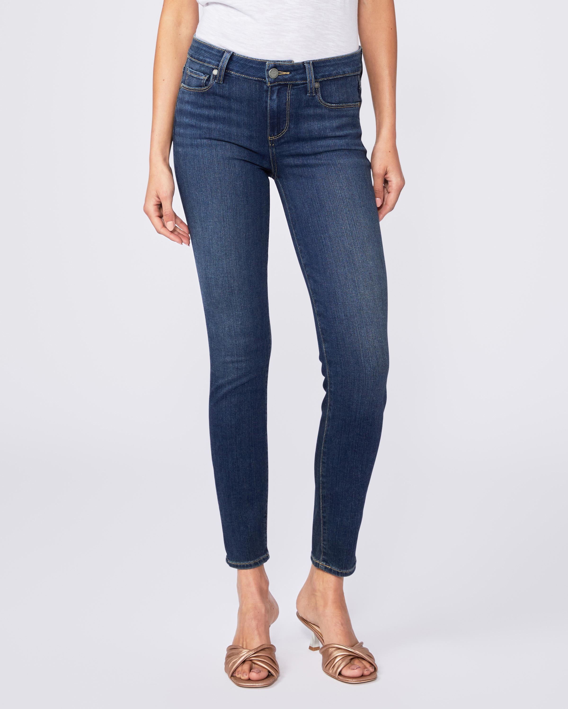 PAIGE Womens Verdugo Ankle Crop Jean