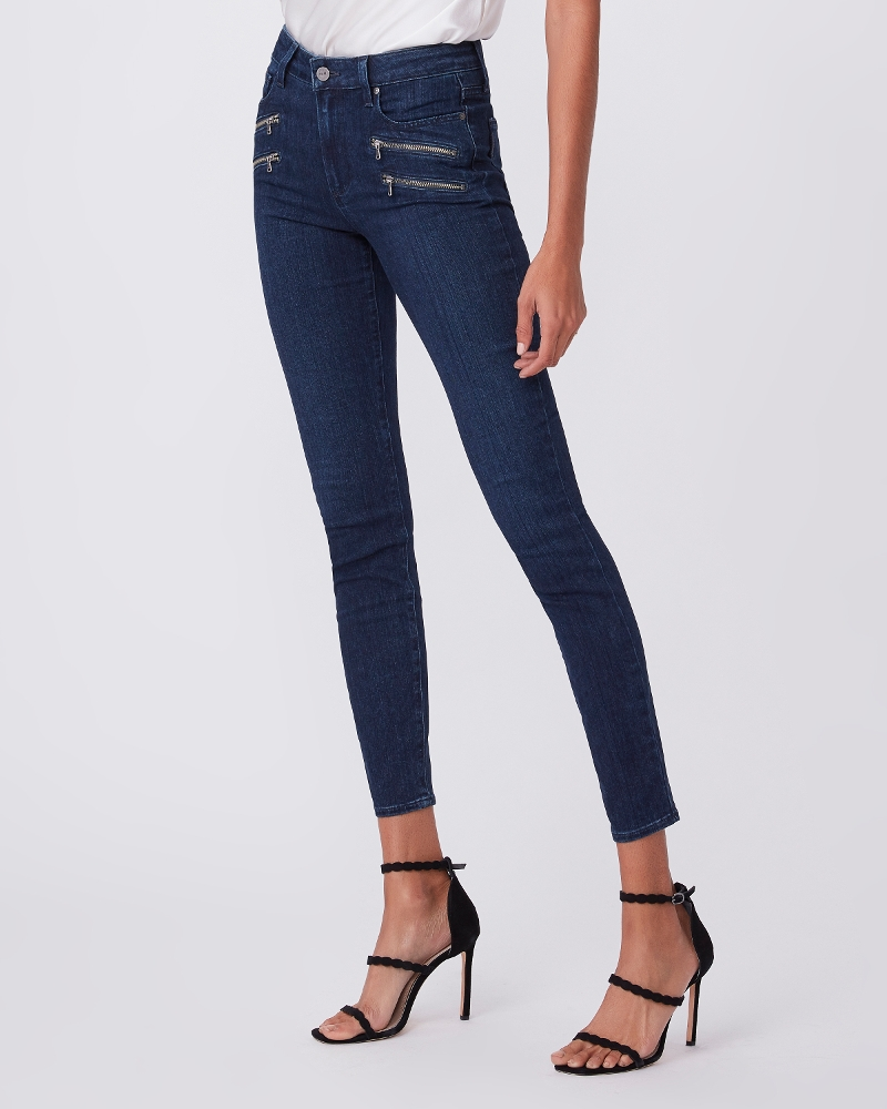 Paige High Rise Edgemont Jeans in Love Wash