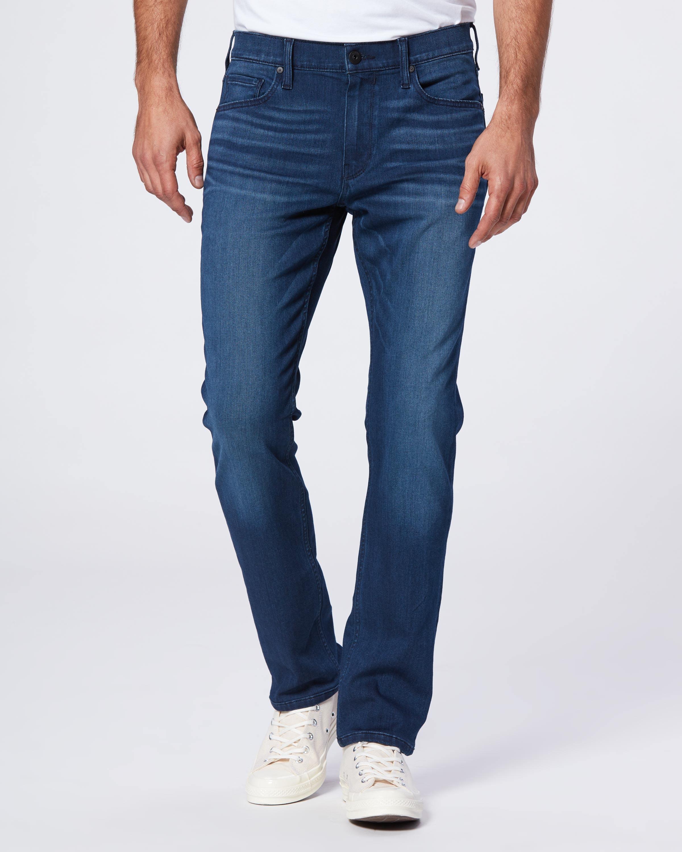 PAIGE Mens Federal Slim-Fit Jean in Soot